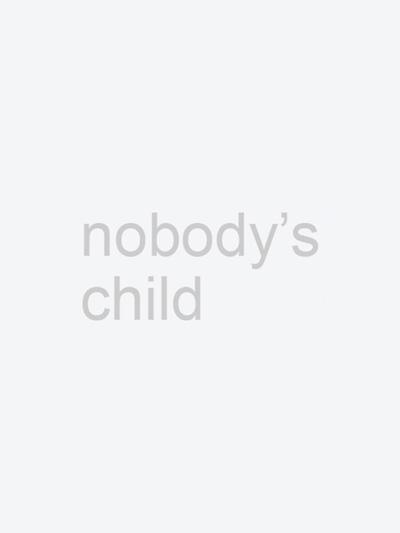 w CREAM AND NAVY COLOURBLOCK RAGLAN TEE